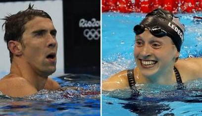phelps and ledecky
